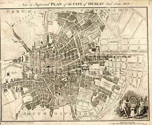 Dublin City Plan, 1812