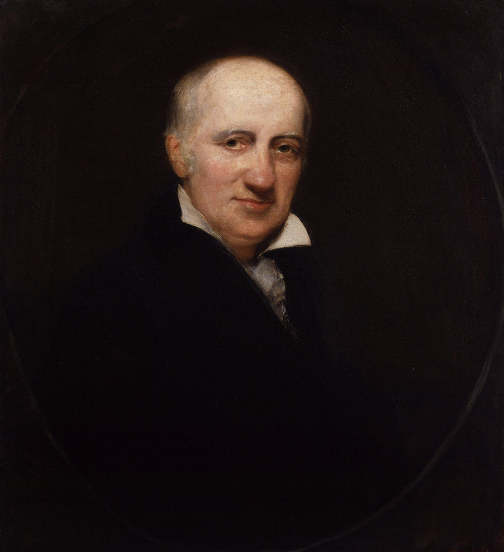 William Godwin, painting by William Henry Pickersgill