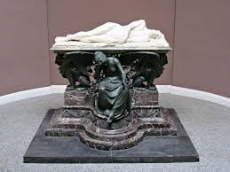 Another appalling presentation of the Victorian Shelley. This is a sculpture at Univesity College, Oxford. Foot ridiculed it earlier in his speech.