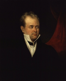 The radical publisher Richard Carlile. Shelley championed him and, later, Carlile championed Shelley.