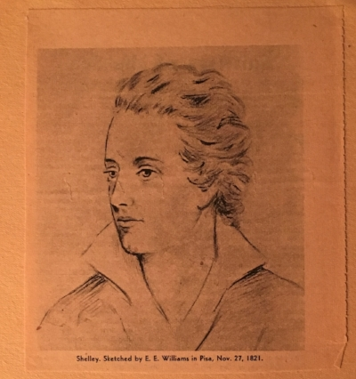 Sketch by Edward Ellerker Williams, Pisa, 27 November 1821