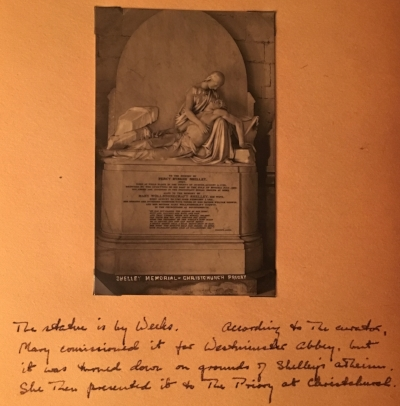 Henry Weeks, Shelley Memorial, Christchurch Priory, Bournemouth, England