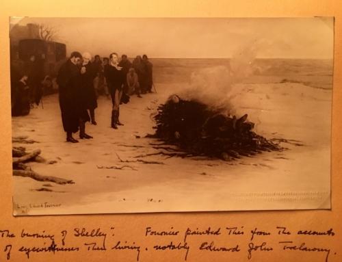 "Louis Edward Fournier, ""The Burning of Shelley"", 1889."