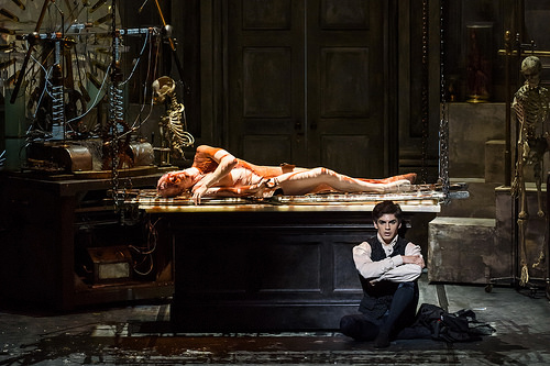 The Royal Opera's adaptation of  Frankenstein , which ran from 2015-16.