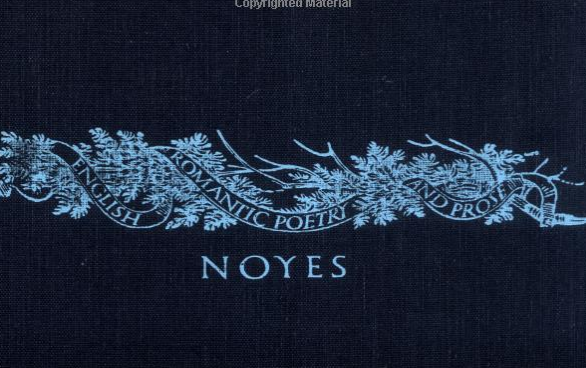 A screen capture of the cover of Noyes' 1956 masterwork.