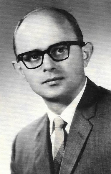 Roland Duerksen after graduation in 1961, at age 35.