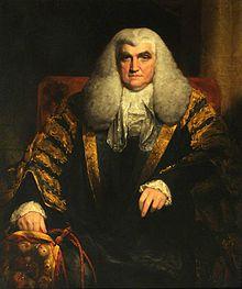 John Scott (1751–1838), afterwards 1st Earl of Eldon, Lord Chancellor of England by William Owen