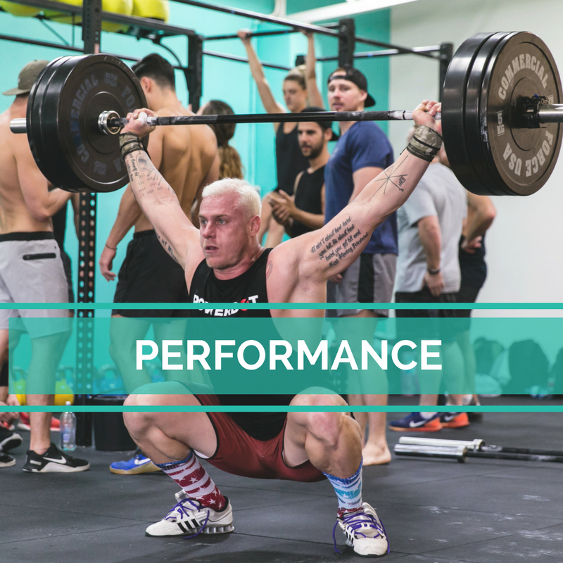 Copy of Weightlifting performance