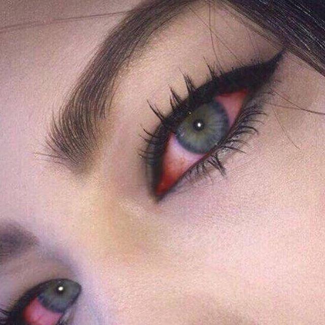 Red eyez @thekushqueens