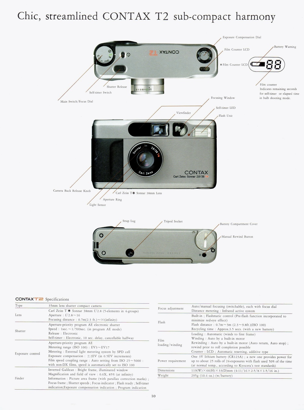 contax t2 theanalogstory rh theanalogstory com contax t2 databack manual contax t2 manual download
