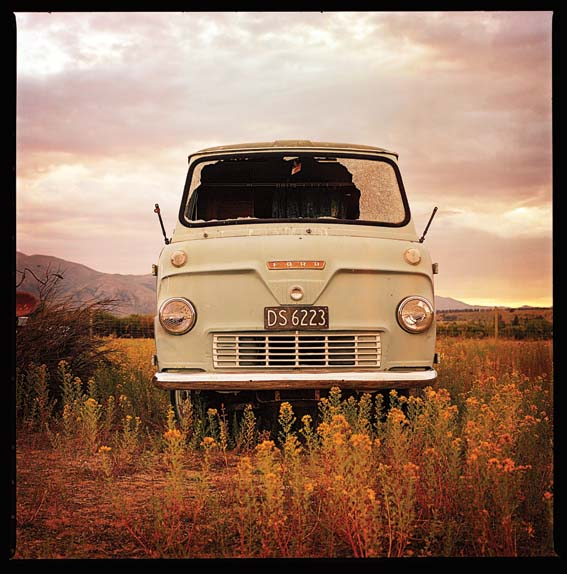 """Ford Combi"" Captured with a Bronica S2 and Kodak 120. Photos by Wayne Lorimer."