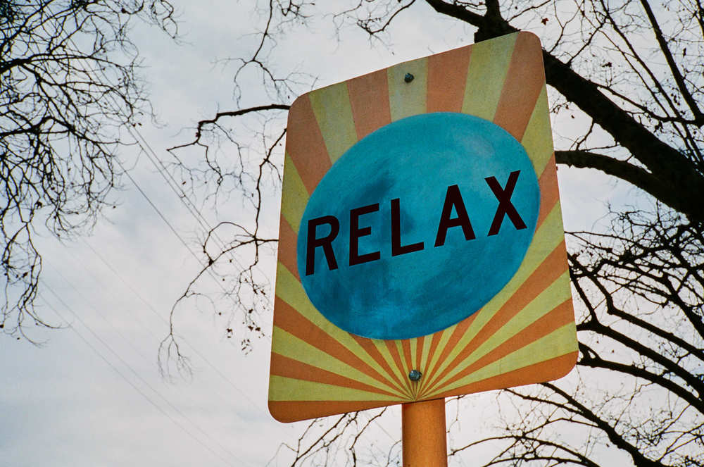 """Just Relax"" - Contax T2 compact camera. Photo by Derrick Story"