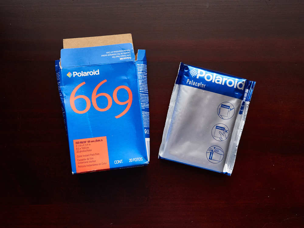 This Polacolor pack film expired in March 2005. But I can still find some Fuji pack film on the aftermarket.