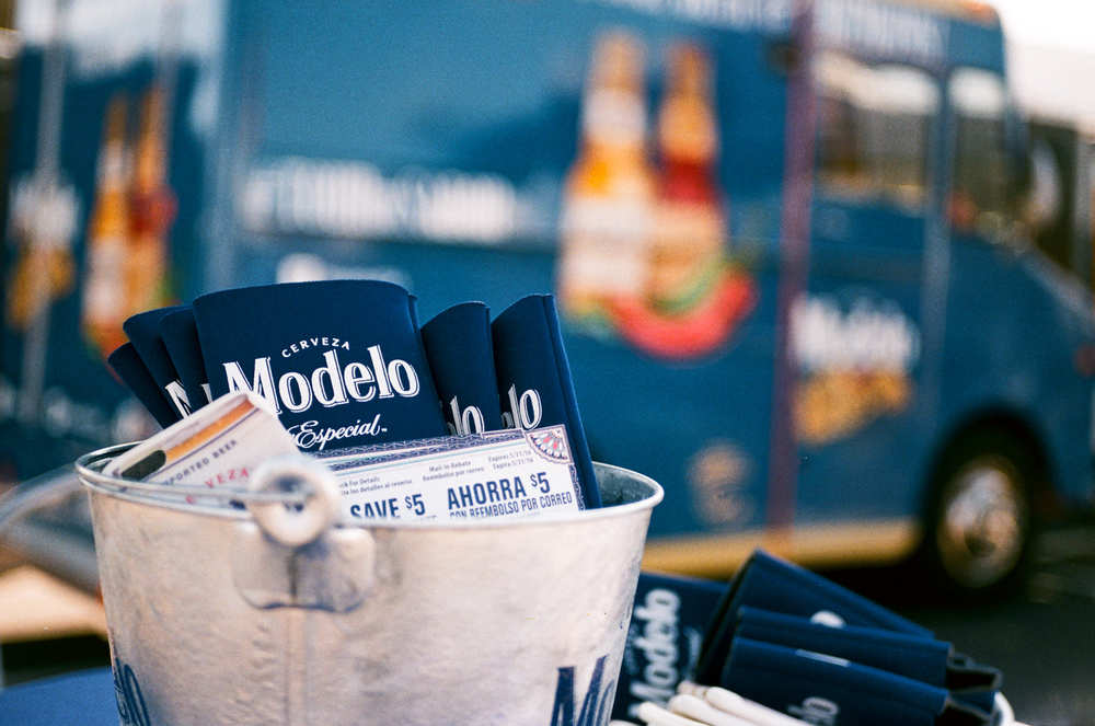 """""""The Modelo Truck"""" by Derrick Story. Yashica FX-103 with Zeiss 45mm f/2.8 on Fujicolor 200."""