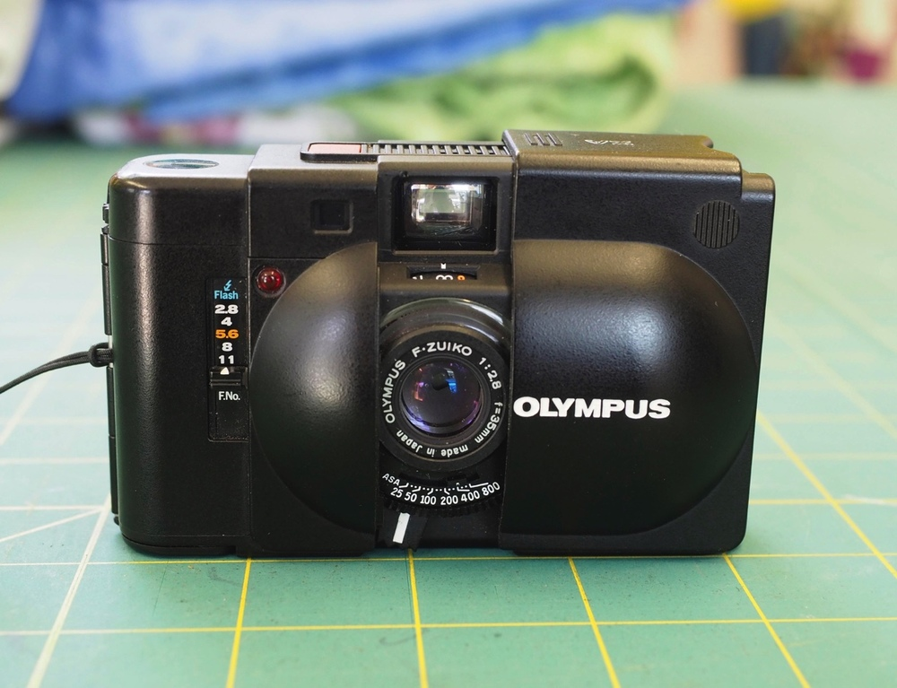 Olympus XA - Article and images by Mike Cox.
