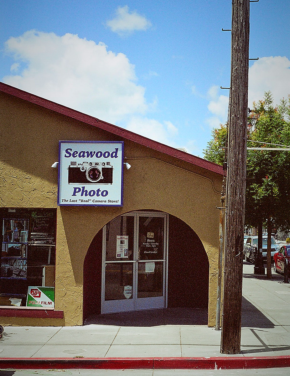 Seawood Photo, San Rafael, CA - Photographed by Derrick Story with a Pentax ZX-M and a 50mm f/2.0 SMC Pentax-A lens. I used Kodak Gold 200 film, expired in March 2005.