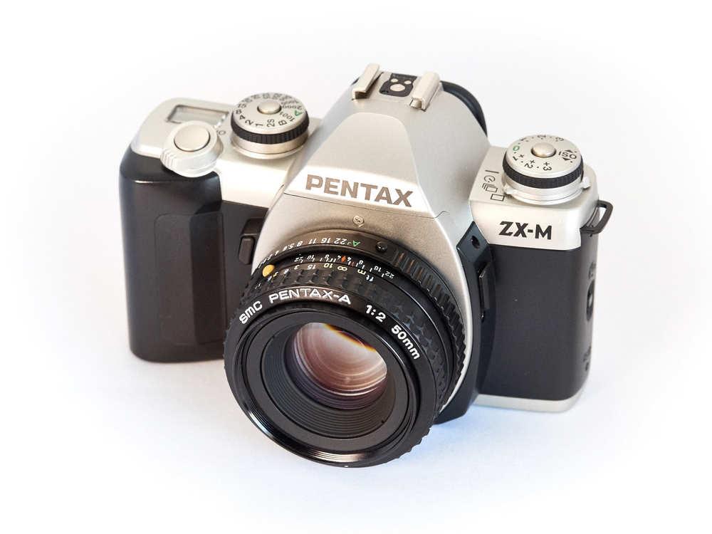 Pentax ZX-M with 50mm Pentax-A lens.