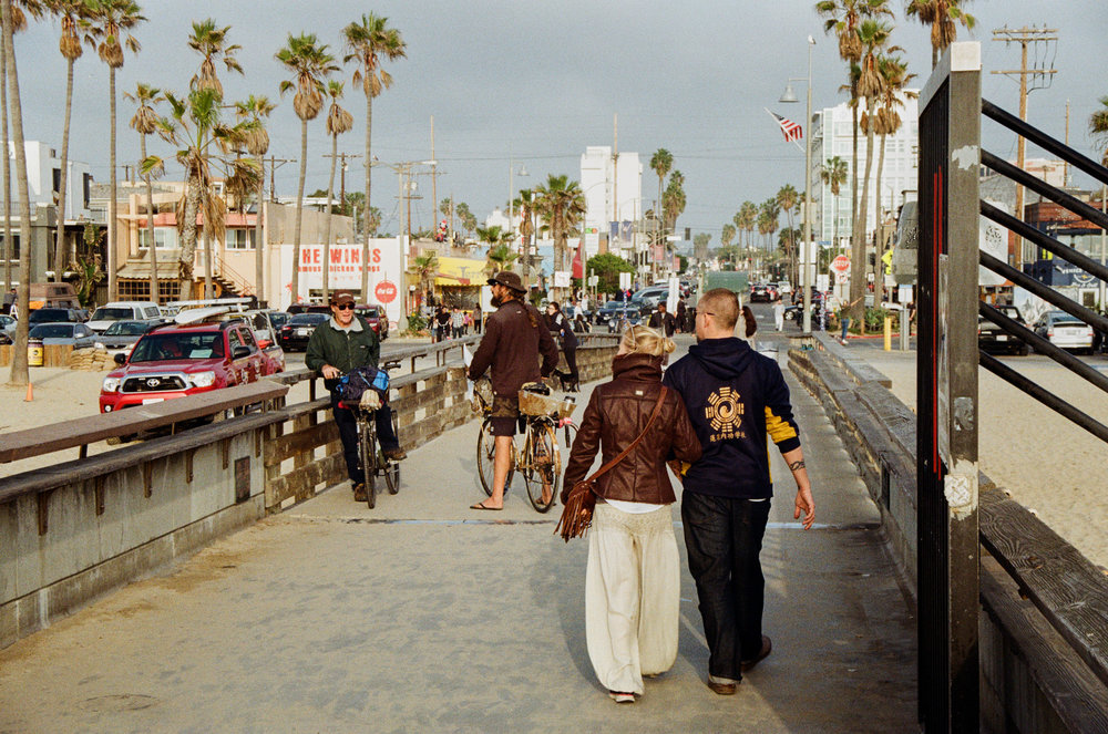 Hanging out on the pier at Venice Beach, CA. Photo by Derrick Story.