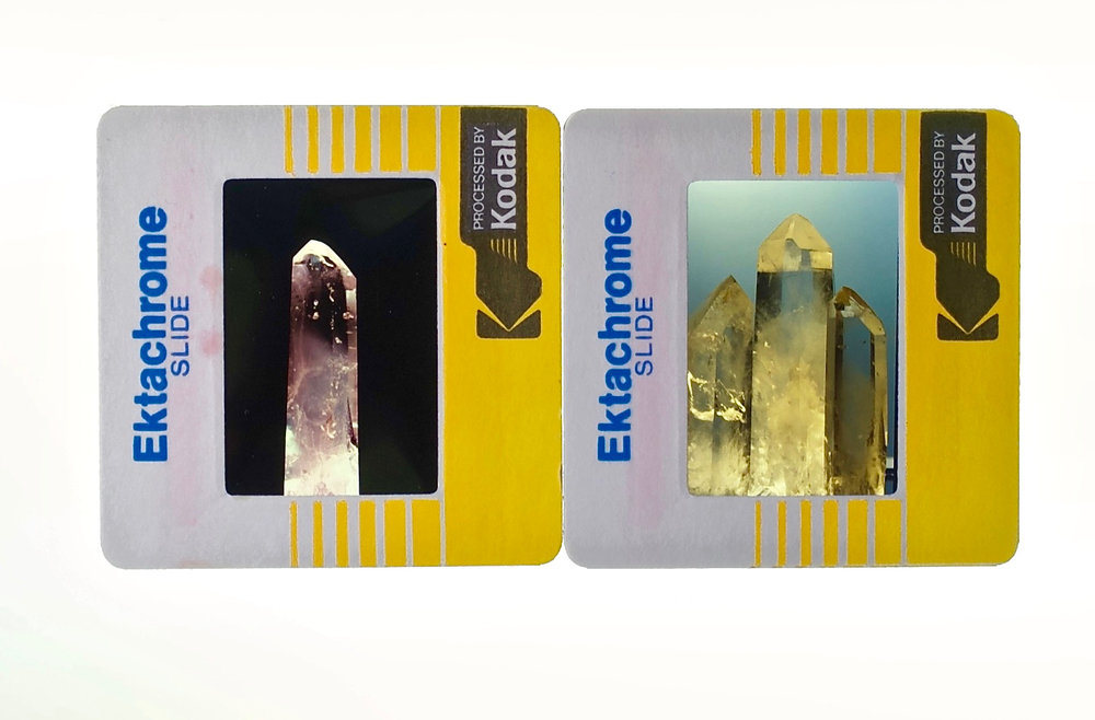 Ektachrome slides from 1985. Photo (and photos) by Derrick Story.