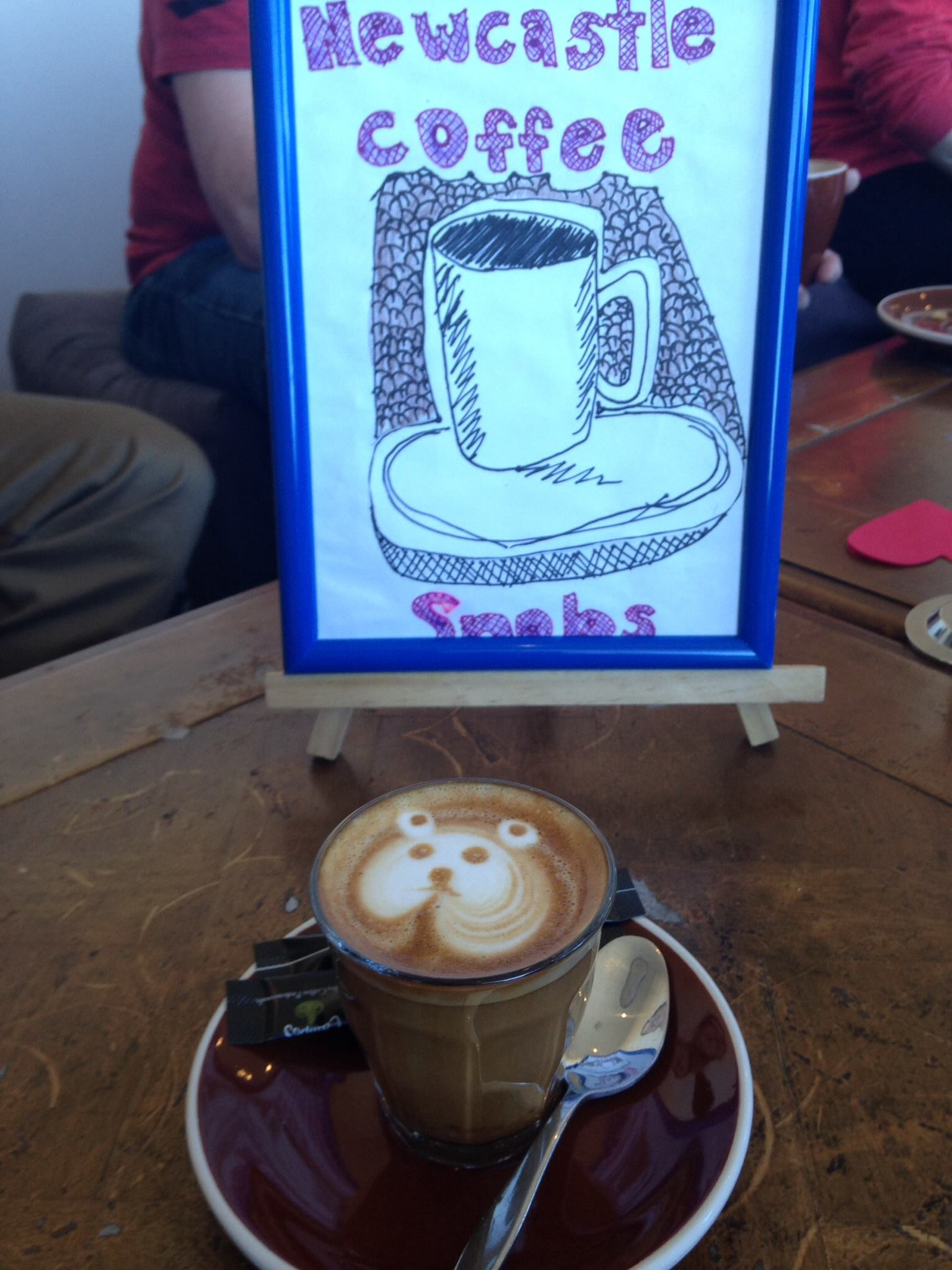 snobs logo with coffee