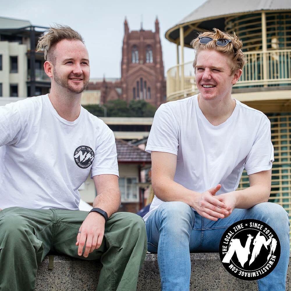 Newie Mirage crew - Kian & Ryan