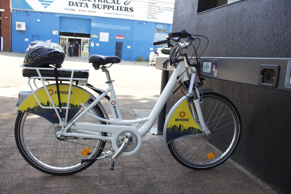 bykko electric bike solution