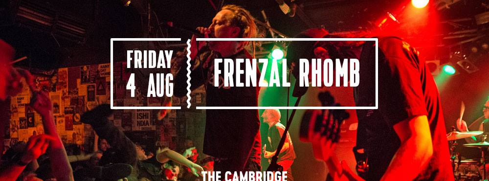 rort menace frenzal rhomb the cambridge hotel august 4th