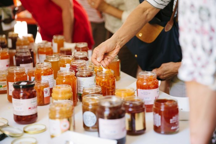 PHOTO:  Modern mixtures are providing very unique marmalade tastes for judges. (Supplied: National Trust SA)   MAP:  Adelaide 5000