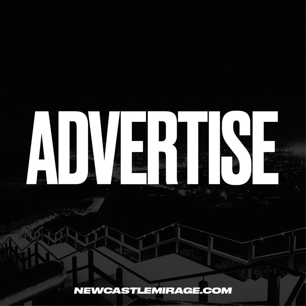 ADVERTISE with Newcastle MIrage