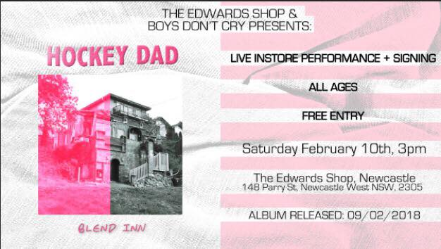 gig of the week hockey dad the edwards shop