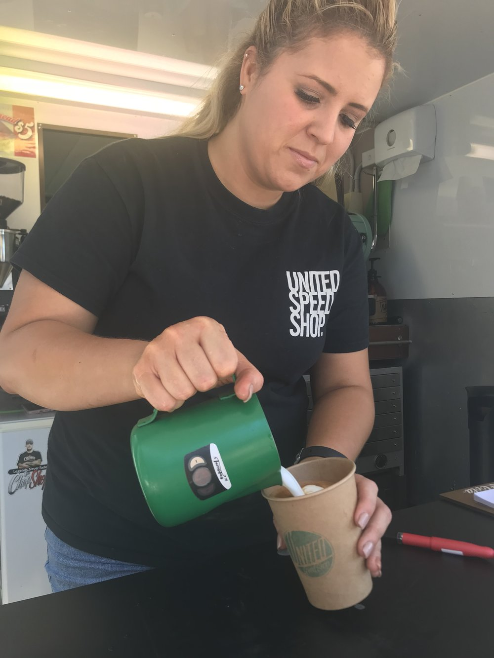 United speed cafe georgetown newcastle