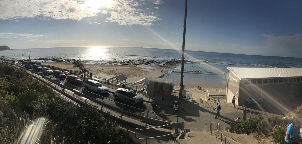 Merewether Baths sunshine Summer