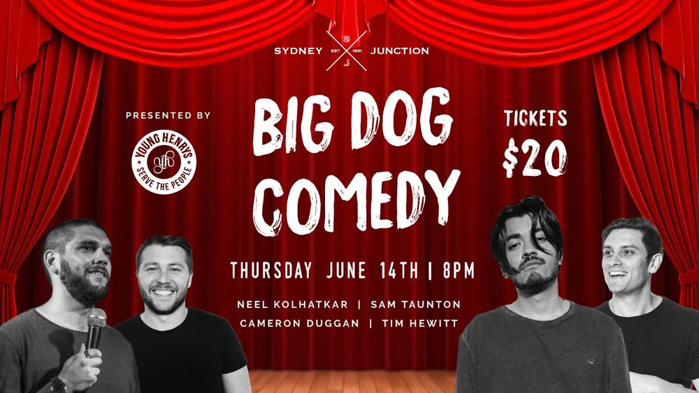 BIG DOG COMEDY