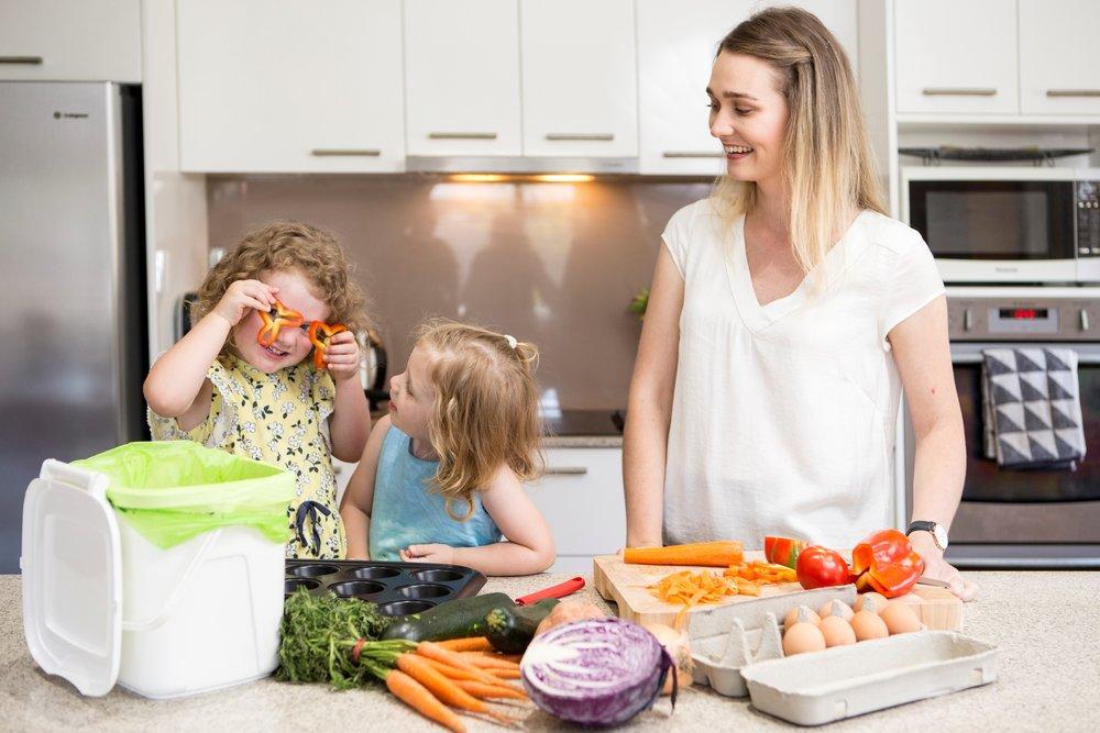 Food+garden=green kitchen