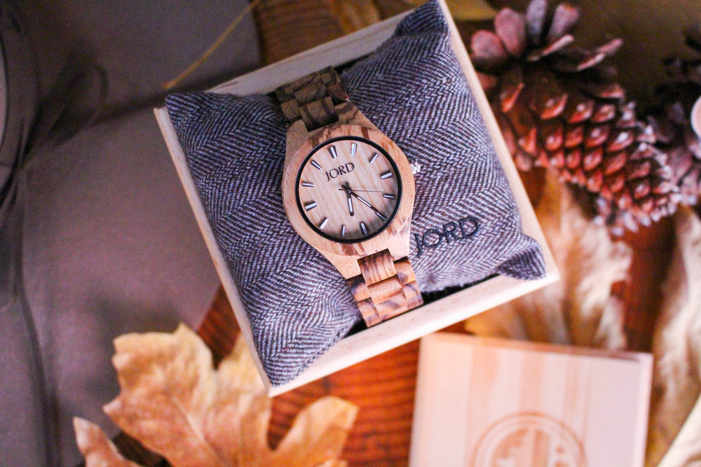 SUGAR AND STAMPS JORD WOOD WATCH GIVEAWAY