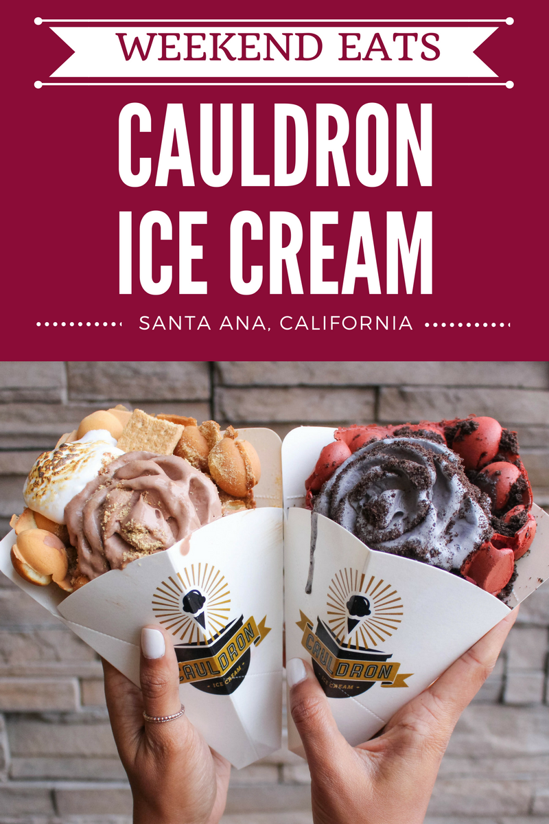 Cauldron Ice Cream in Santa Ana, California