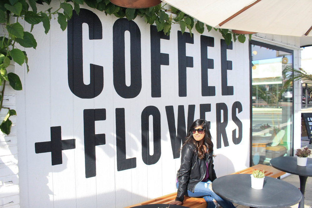 Communal Coffee: Coffee and Flowers