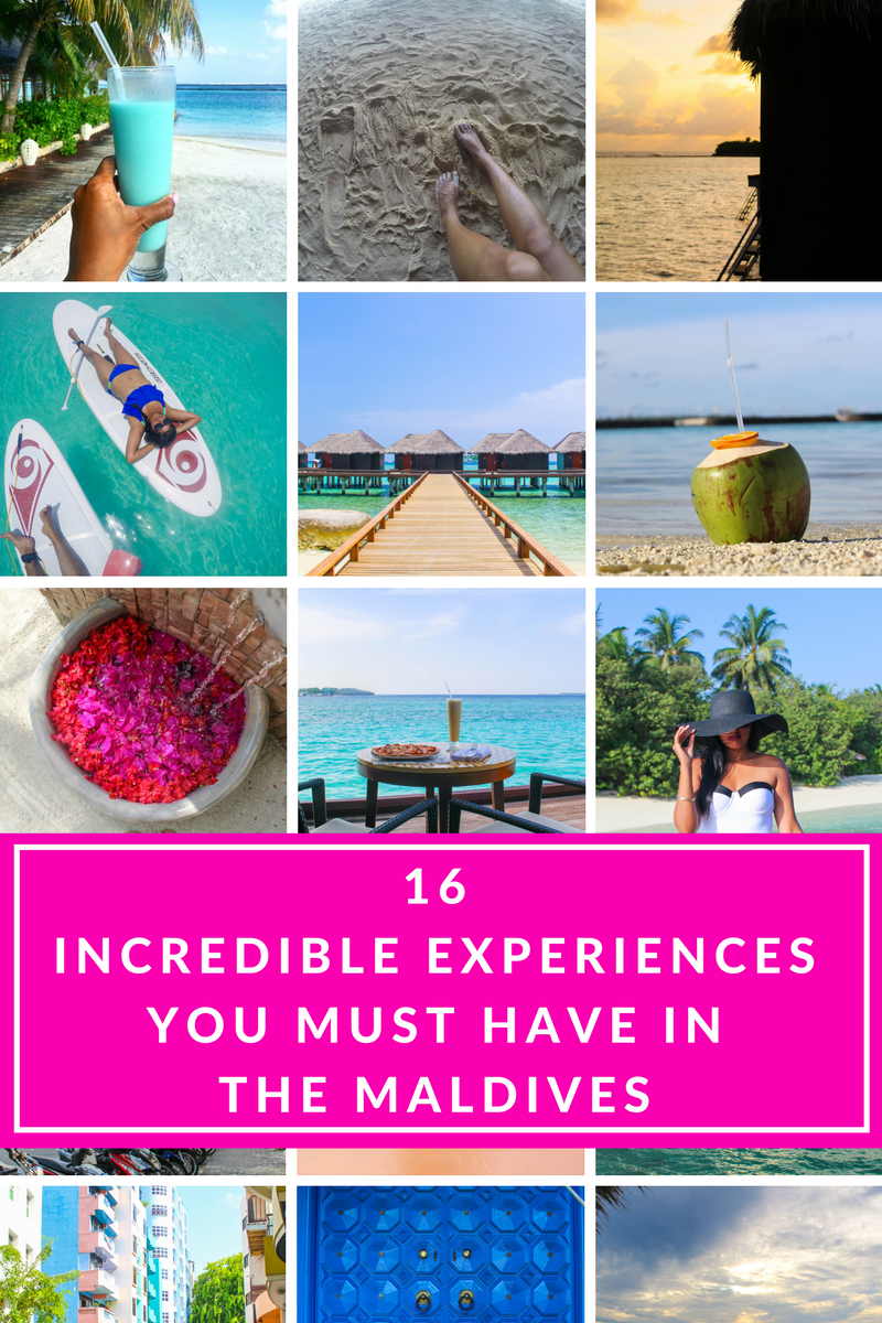 16 Incredible Experiences You Must Have in the Maldives