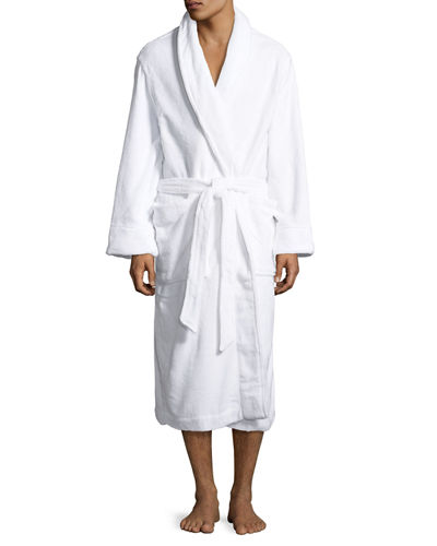 PLUSH WHITE SPA ROBE