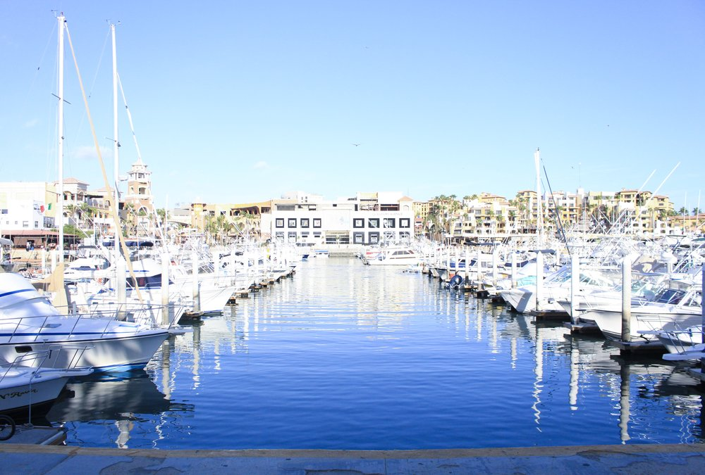 Marina Dock in Cabo San Lucas