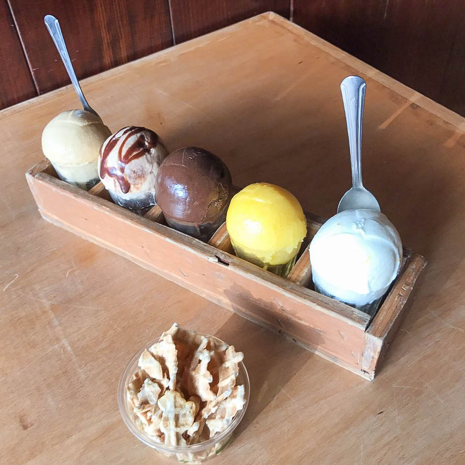 - What to Order? You absolutely have to try the ice cream flight at least once!photo: yelp.com
