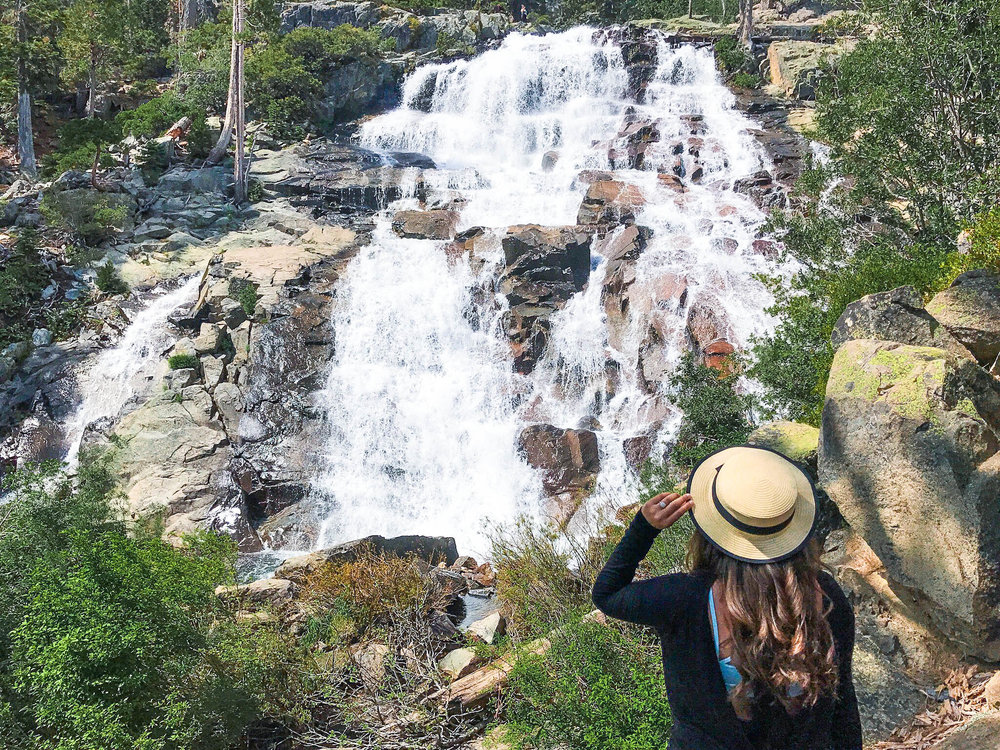 ultimate aSUMMER TRAVEL GUIDE TO SOUTH LAKE tahoe - eagle falls