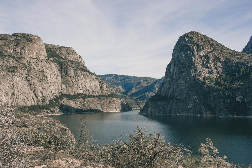 hetch hetchy in Yosemite national park