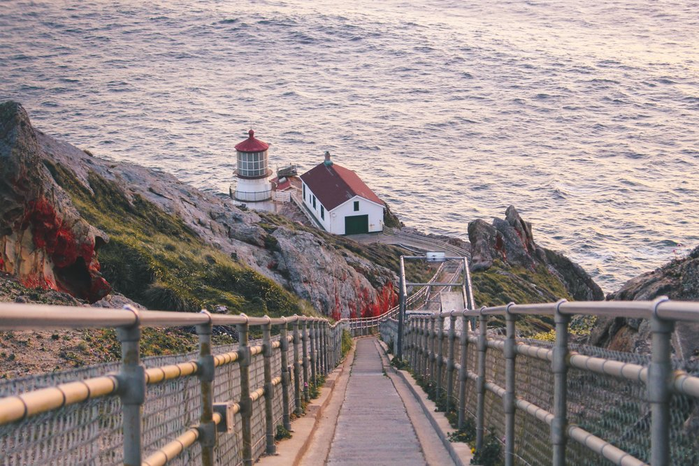 point reyes lighthouse, inverness, california