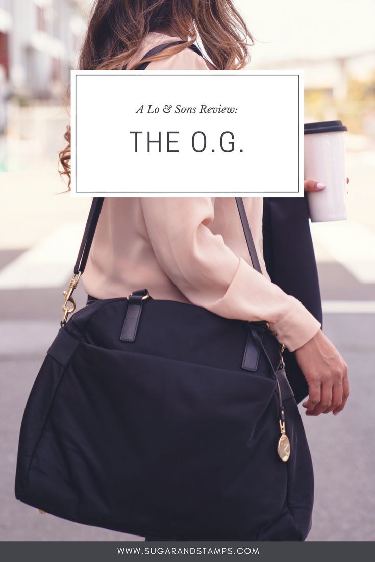 Lo & Sons Review: The O.G. Overnight Bag