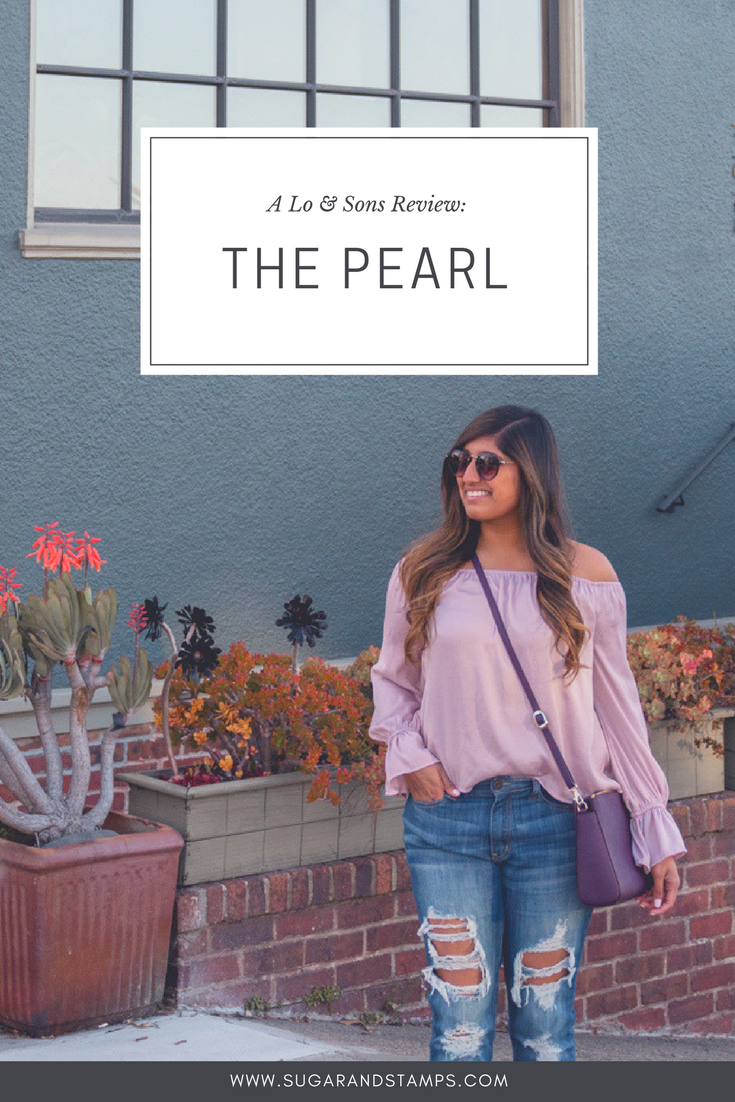 Lo & Sons Review: The Pearl Crossbody Bag