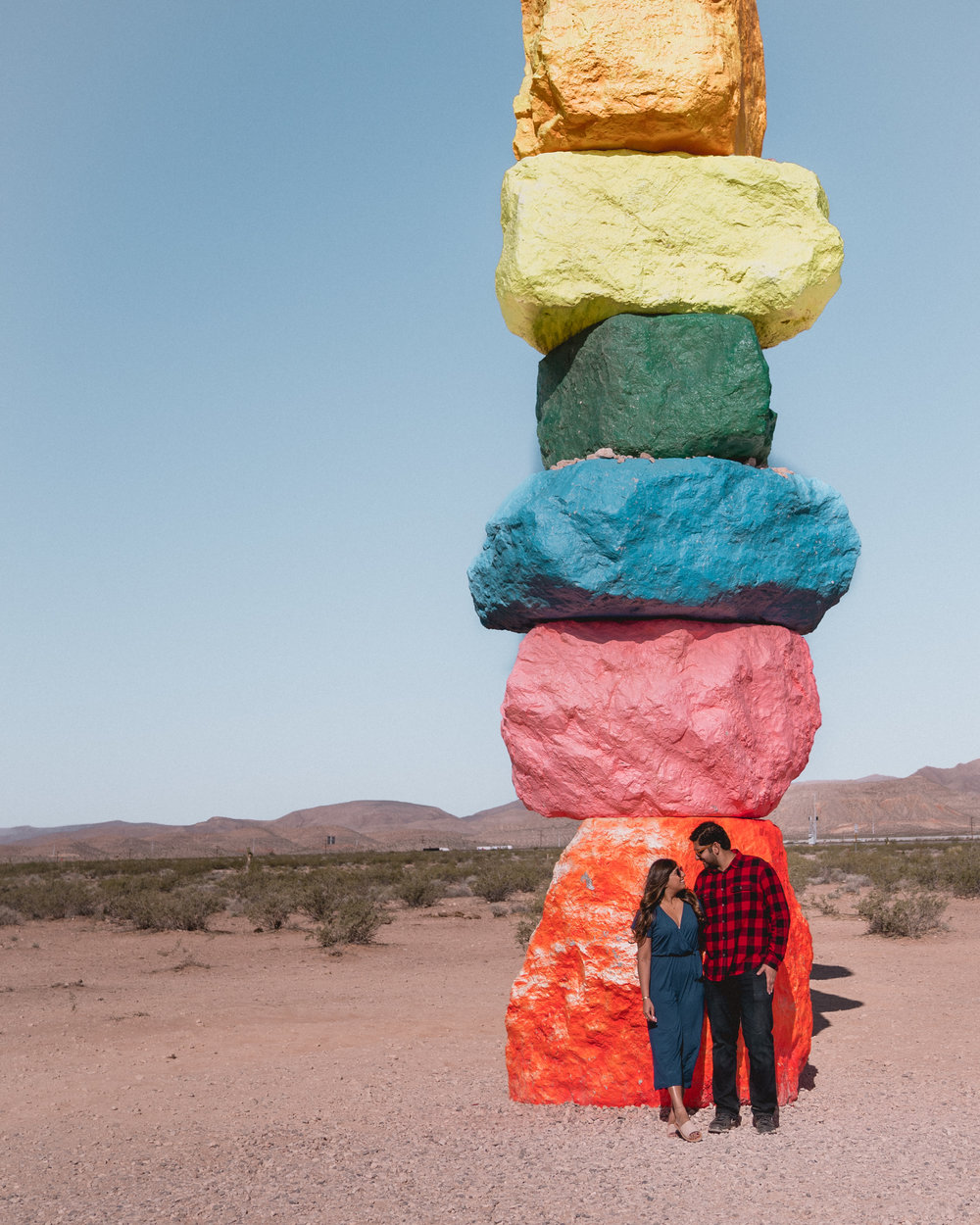 10 Instagrammable Things To Do in Las Vegas: 7 Magic Mountains