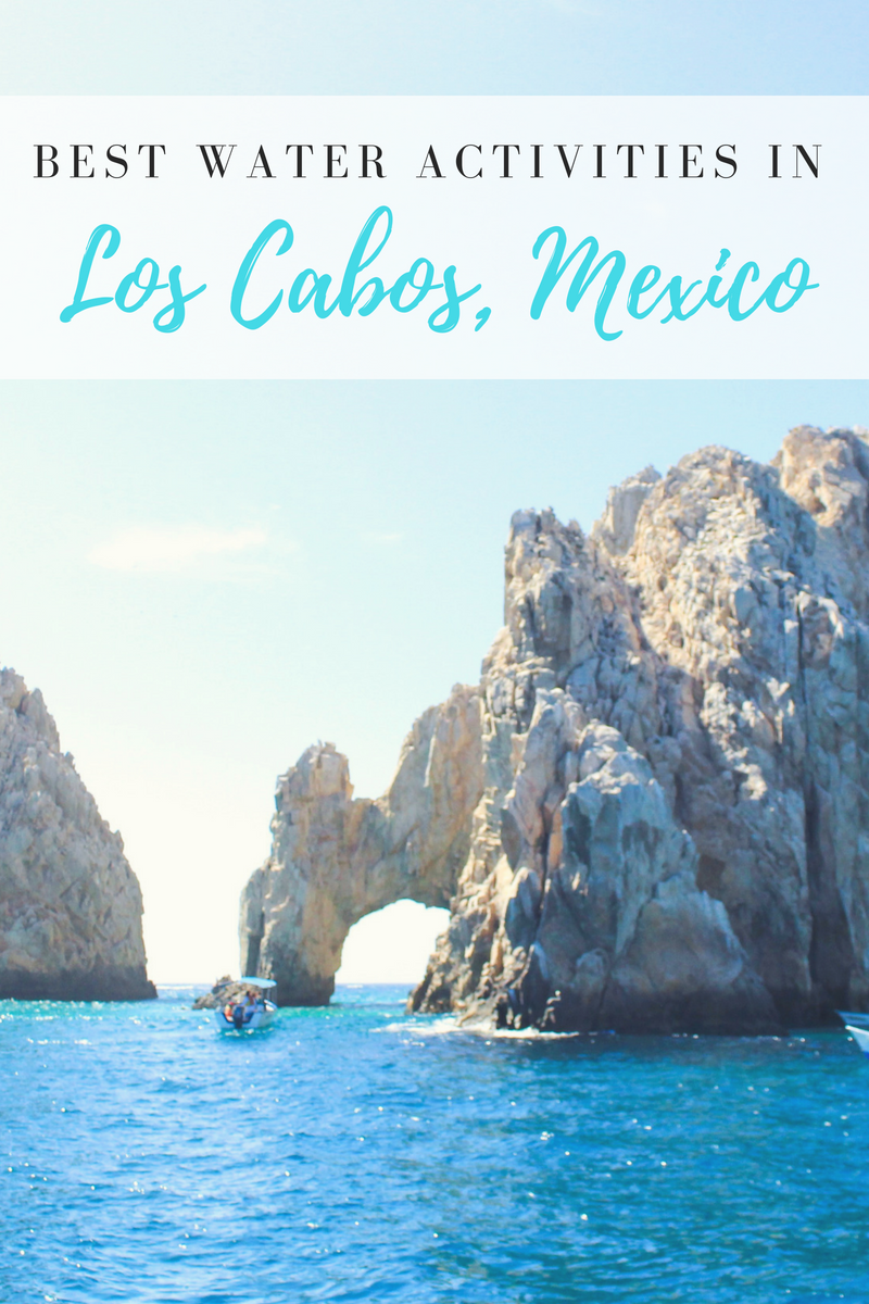 Best Water Activities in Los Cabos, Mexico