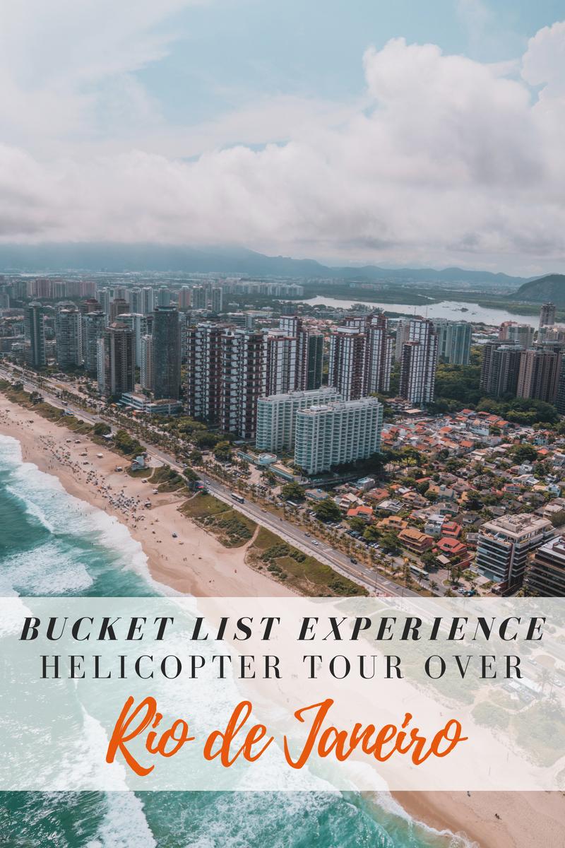 Best Doors-Off Helicopter Tour in Rio de Janeiro, Brazil