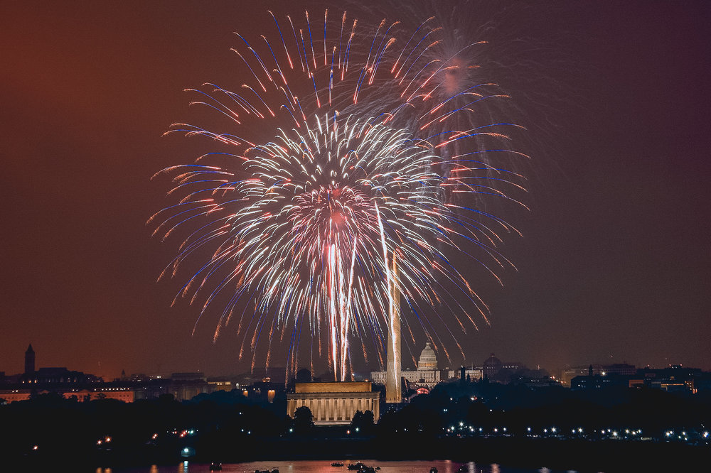 Best Fourth of July Destinations in the US: Washington, DC